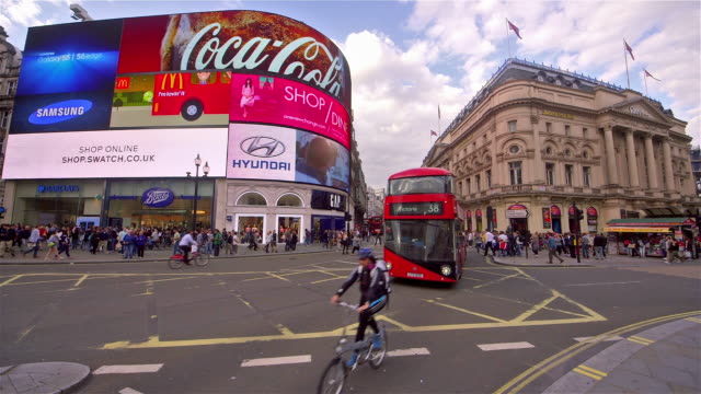 london - bus billboard stock videos & royalty-free footage
