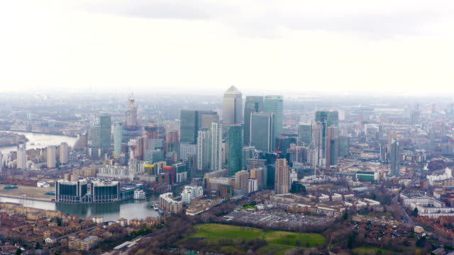 London Views From A Helicopter