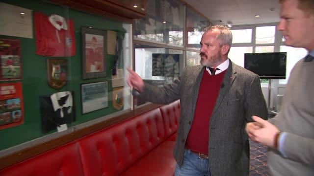 london welsh goes into liquidation gareth hawkins interview sot - liquidation stock videos and b-roll footage