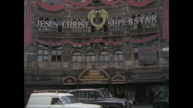 1976 - london west end theatres - west end london stock videos and b-roll footage