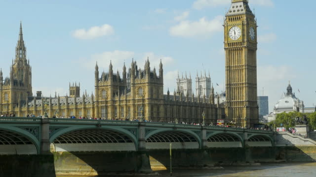 London Westminster Bridge und Big Ben Cinemagramm