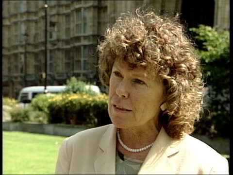 stockvideo's en b-roll-footage met london westminster ext kate hoey mp interview sot i think this will help the anticonstitution vote because mandelson is very much in favour of old... - peter mandelson