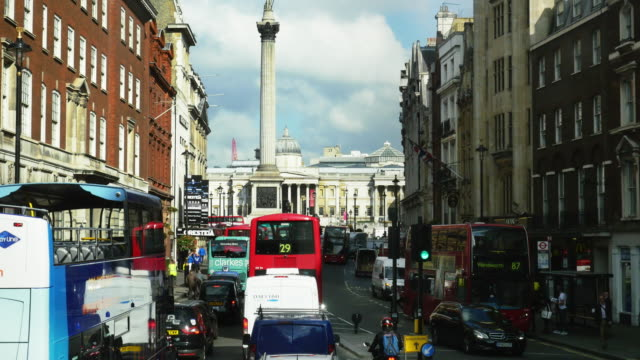 POV London Whitehall And Trafalgar Square (UHD)