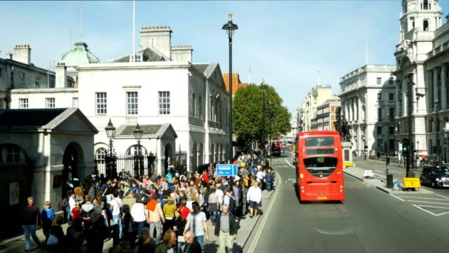 POV London Whitehall Bus Ride (4K/UHD to HD)