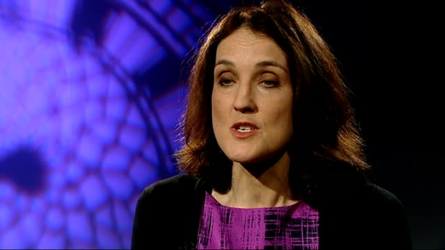 vídeos y material grabado en eventos de stock de londonderry mortar bomb attack foiled by police england london int theresa villiers mp interview sot there continues to be a threat from these... - grupo mediano de objetos