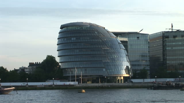 LondonDistant view of City Hall in London United Kingdom