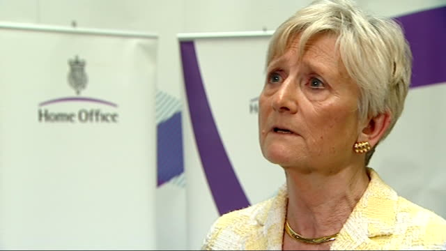 londoners could receive compensation for being illegally stopped and searched; england: london: int baroness pauline neville-jones interview sot - baroness stock videos & royalty-free footage