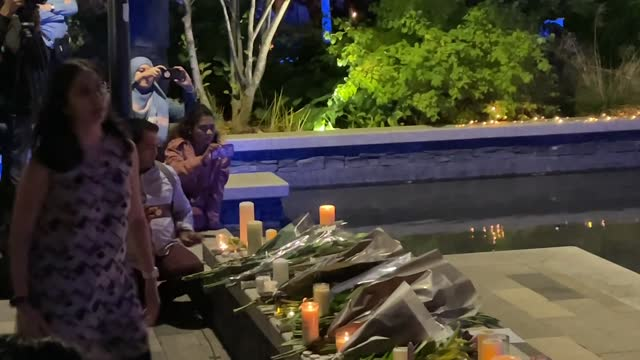 londoners gathered in front of kidbrooke train station on friday night to mourn the death of sabina ness who was found dead in kidbrooke park. the... - murder stock videos & royalty-free footage