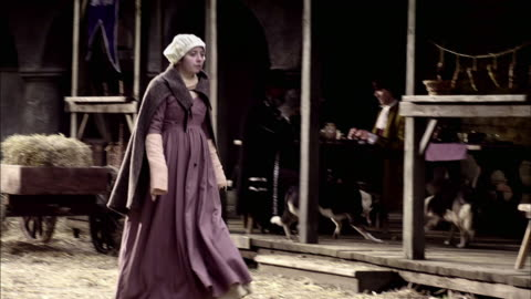 londoners move through the city. - historical reenactment stock videos & royalty-free footage