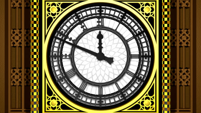london's big ben (3d model) - gothic style stock videos & royalty-free footage