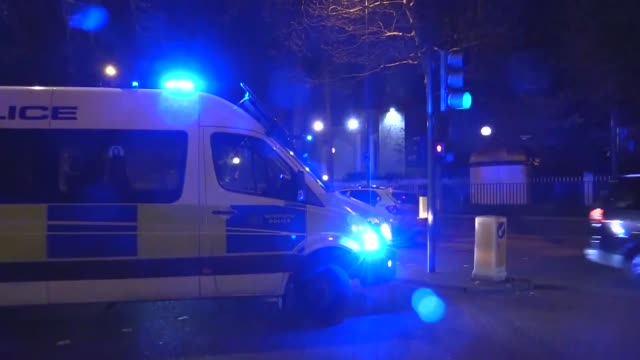 london's central regent's park mosque was cordoned off on march 28 2019 by police after reports of stabbing on a nearby road according to a police... - london central mosque stock videos & royalty-free footage