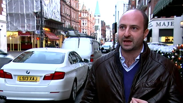 london's councils accused of 'daylight robbery' as profits from parking fines rise again councillor daniel astaire set up shot with reporter /... - parking ticket stock videos & royalty-free footage