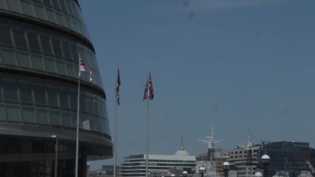 london's government could move from city hall as part of an effort to fill a £500 million black hole in the capital's finances mayor sadiq khan said... - gla building stock videos & royalty-free footage