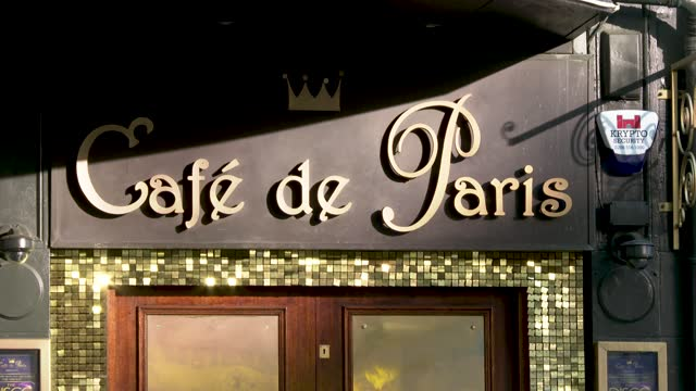 london's iconic café de paris venue set to close after 96 years on december 19, 2020 in london, england. london and large parts of southern england... - 4 5 years stock videos & royalty-free footage