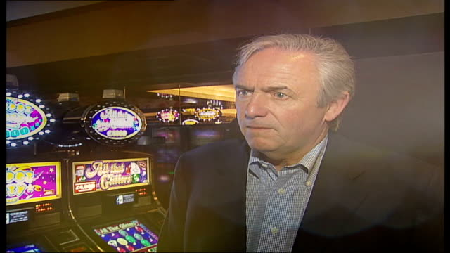London's largest casino opens in Leicester Square New casino in Leicester Square called 'The Casino at the Empire' Bill Timmins interviewed SOT...