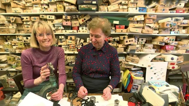 london's longest workers maureen rose has been making buttons in fitzrovia for 50 years england london fitzrovia 10 norfolk street ext maureen rose... - long stock videos & royalty-free footage