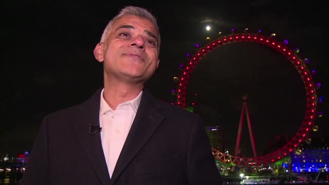 London's mayor Sadiq Khan said London has had a tough year in 2017 with terror attacks and the Grenfell Tower fire but that he's proud of how its...