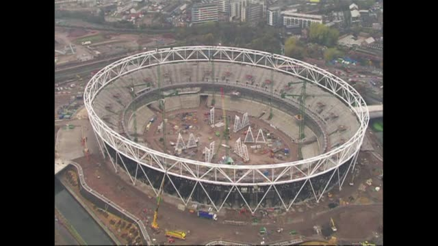 london's olympic park legacy company announce on friday their preferred choice to take over the 2012 stadium after next year's games london greater... - greater london stock videos and b-roll footage