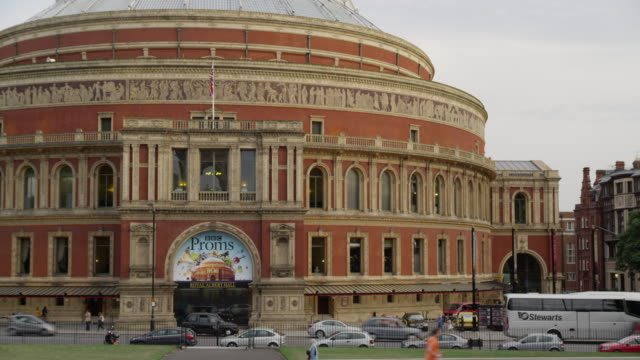 london's royal albert hall. - royal albert hall stock videos and b-roll footage