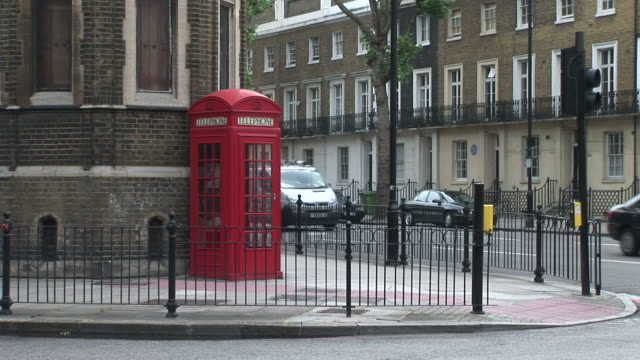 LondonTelephone booth in London United Kingdom