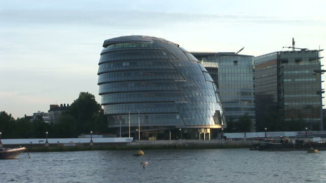 londonview of city hall in london united kingdom - gla building stock videos & royalty-free footage