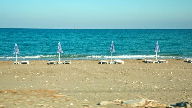 HD: Lonely beach near Pigadia (Karpathos), Greece