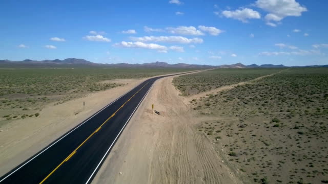 lonely desert road - new mexico stock videos and b-roll footage