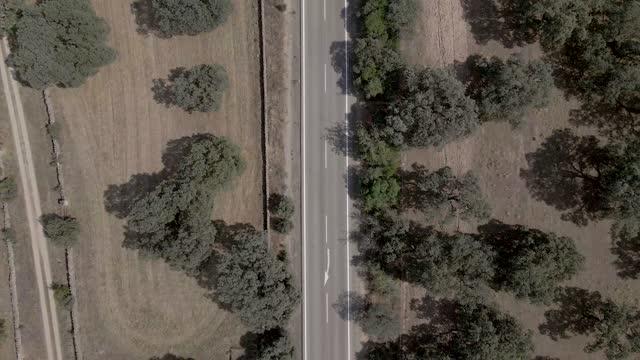 vídeos y material grabado en eventos de stock de lonely road - valle