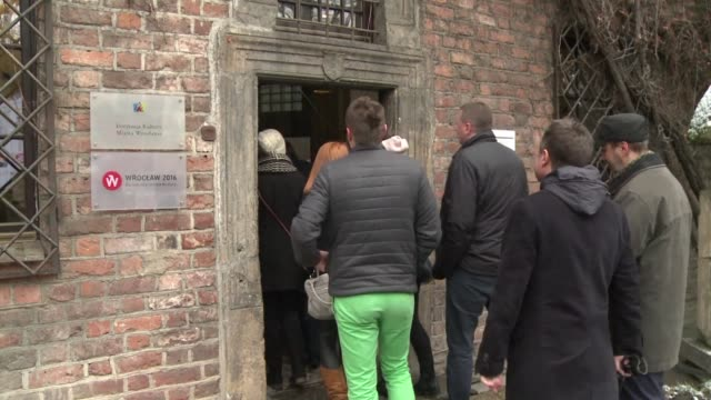 long a symbol of polish german reconciliation polands western city of wroclaw will become a european culture capital this year highlighting its... - western european culture stock videos & royalty-free footage