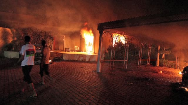 A long awaited inquiry into a deadly militant attack on the US mission in the Libyan city of Benghazi slammed State Department security arrangements...