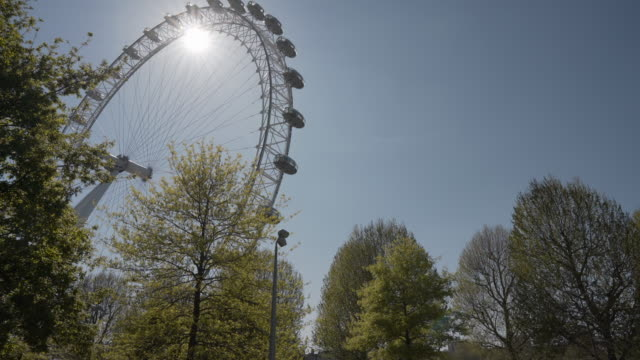 a long dolly shot on the london south bank, in spring - spring flowing water stock videos & royalty-free footage