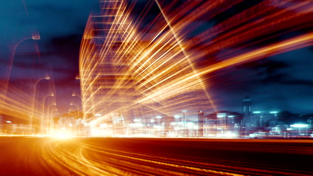 long exposure traffic - binary code stock videos & royalty-free footage