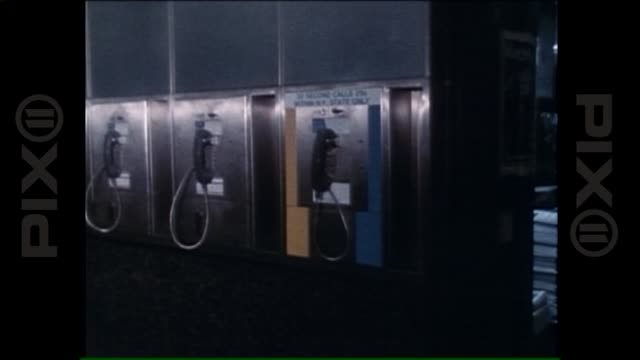long island rail road penn station 1978 penn station introduces 30 second pay phones on june 07 2013 in new york ny - long island railroad stock videos & royalty-free footage