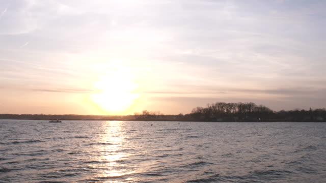 Long Island Sound Sunset in 4k