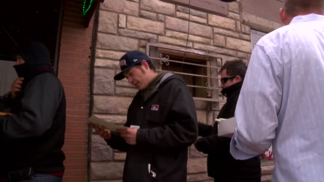 Long lines formed early on New Years day at marijuana dispensaries in Colorado for the first day of legal sales for recreational use January 1 2014...