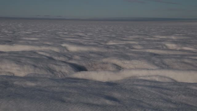 long panning shot of the glacial ice sheet - sheet stock videos & royalty-free footage