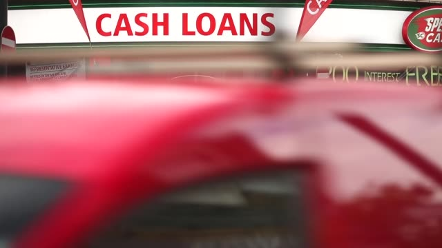 long shot cash loans shop in brixton london payday loan stores are to face tougher regulations after moves proposed by the financial conduct... - pawnbroker stock videos & royalty-free footage
