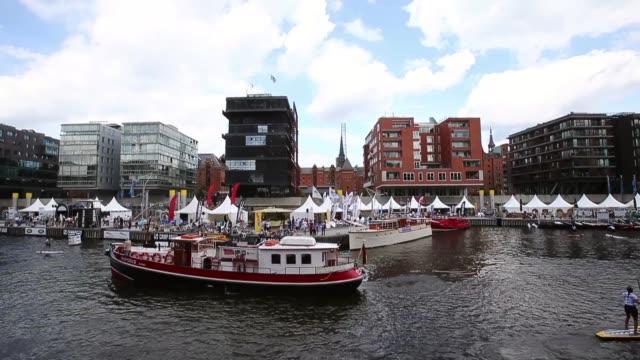 Long Shot Magellan Terassen on August 16 2013 in Hamburg Germany