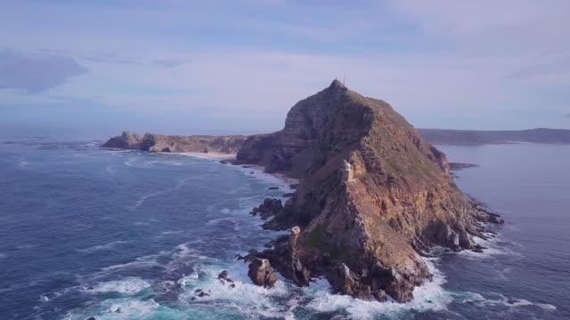 long shot of cape of good hope - ケープ半島点の映像素材/bロール