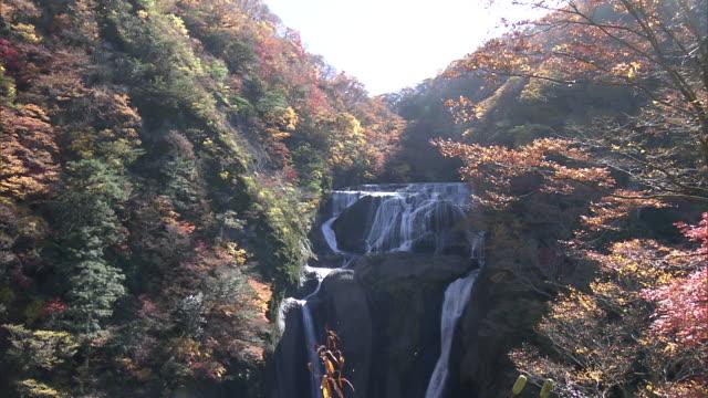 Long shot of the Fukuroda Falls, Ibaraki, Japan