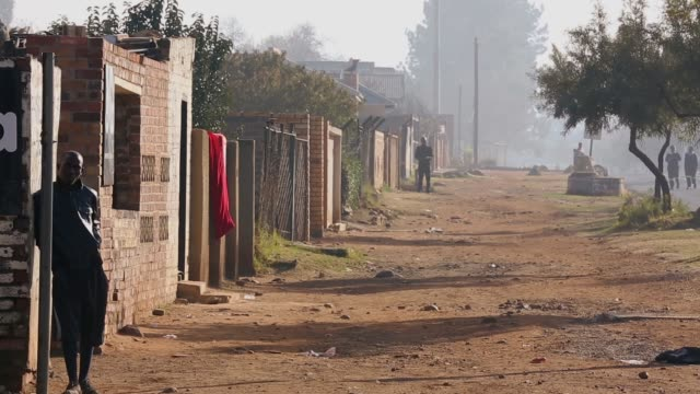 long shot people walk through downtown soweto on june 16 2013 in johannesburg south africa nelson mandela the former south african president and... - soweto stock videos & royalty-free footage