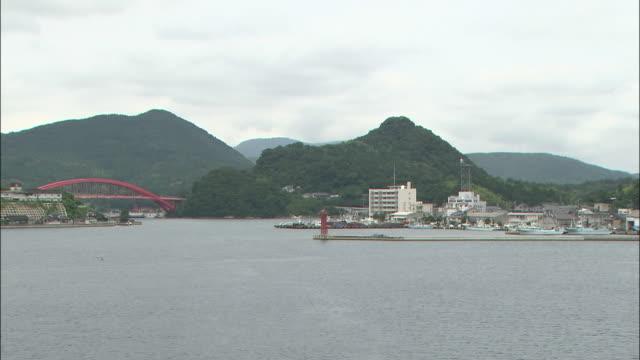 long shot taken at sea of the oki islands - shimane prefecture stock videos & royalty-free footage