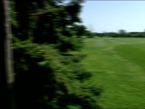 long shot - green di golf video stock e b–roll