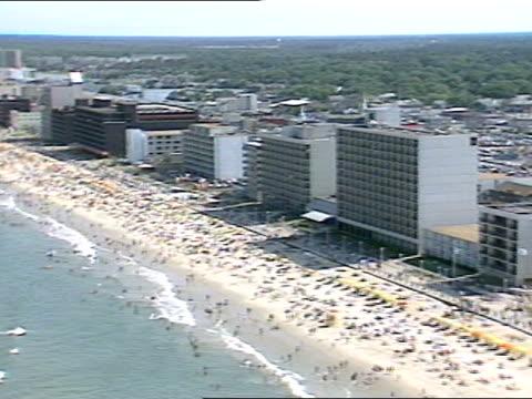 long shot - virginia beach stock videos & royalty-free footage