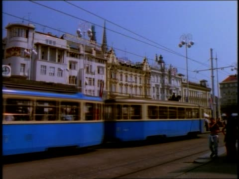 long shot - zagreb stock videos and b-roll footage