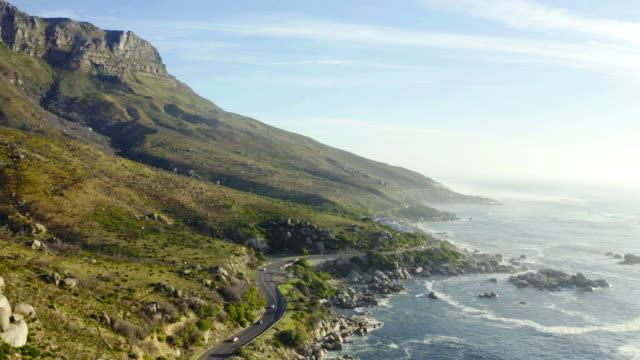 long winding roads to new places are my favourite - cape town stock videos & royalty-free footage