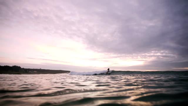 Longboarder sundown