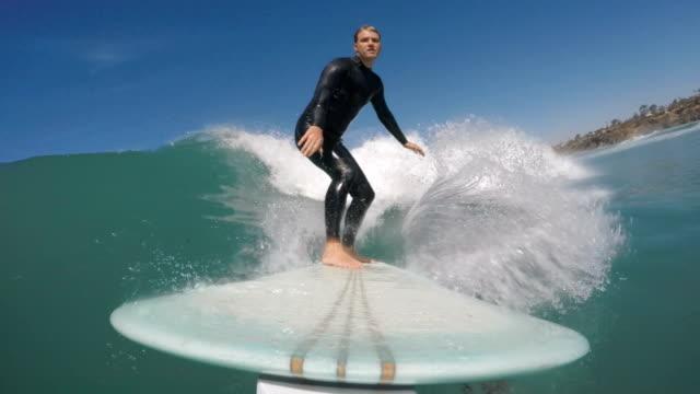 vídeos y material grabado en eventos de stock de longboarding - surf en longobard