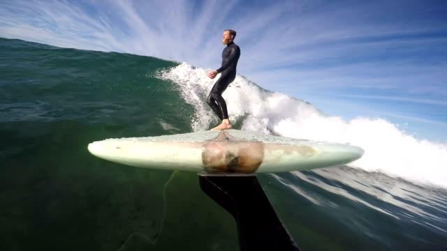 longboarding - surfboard stock videos and b-roll footage