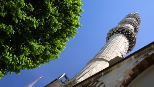 vídeos de stock e filmes b-roll de longshot of tower in turkish landmark - exposto ao ar